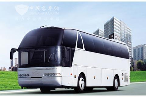 北京包大客车服务 冬季行车保持合理车距