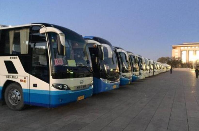 北京大巴包车公司在北京展开春节前年会争夺战
