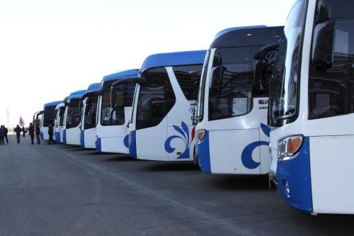 北京市内包大巴车-企业商务团建拓展包大客车
