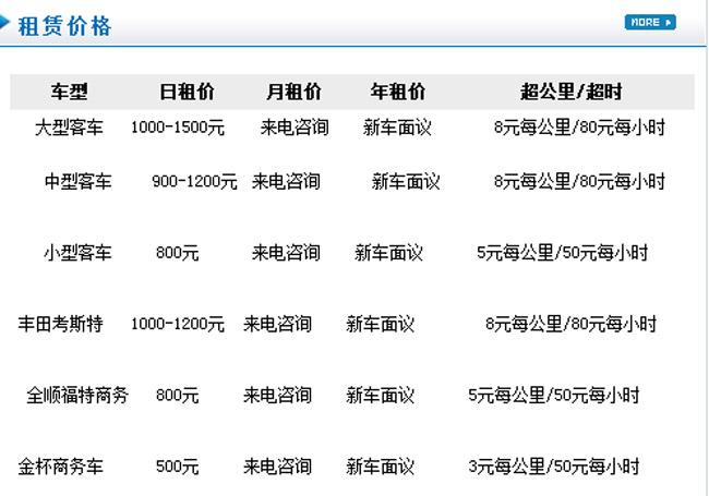 北京旅游大客车租赁服务 企业班车租赁价格怎么样