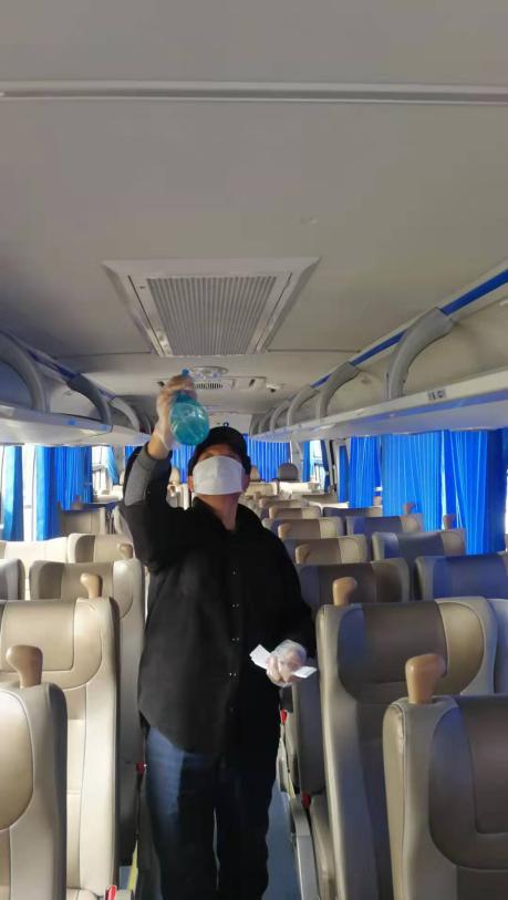 北京包车预防冠状病毒我们一直在坚持做好消杀工作